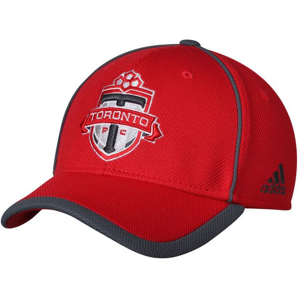 * Men's Toronto FC adidas Red Cut and Sew Structured Adjustable Hat, Your Price: $24.99