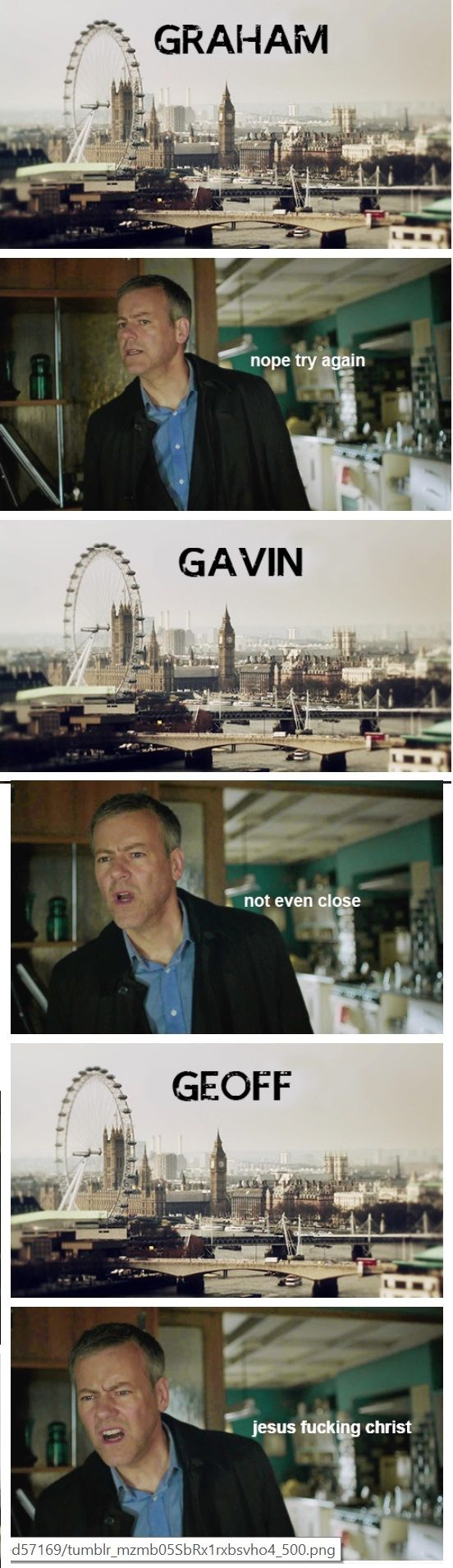 """If Lestrade was the main character of the show… GREG!!!!!<<< The show would be called """"NOT MY NAME"""""""