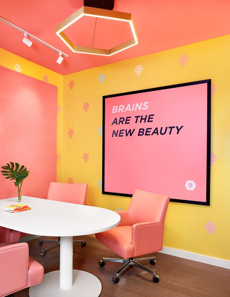 """Bumble, a popular technology startup that operates dating app encouraging women to make the first move, recently opened its new headquarters in Austin, Texas, designed by architecture & interior design firm Mark Odom Studio. """"Before Bumble moved in to the commercial building in the Rosedale neighborhood of Austin, Texas, the collaborative team at Mark Odom Studio … Continue reading Inside Bumble's Cool New Austin Headquarters →"""