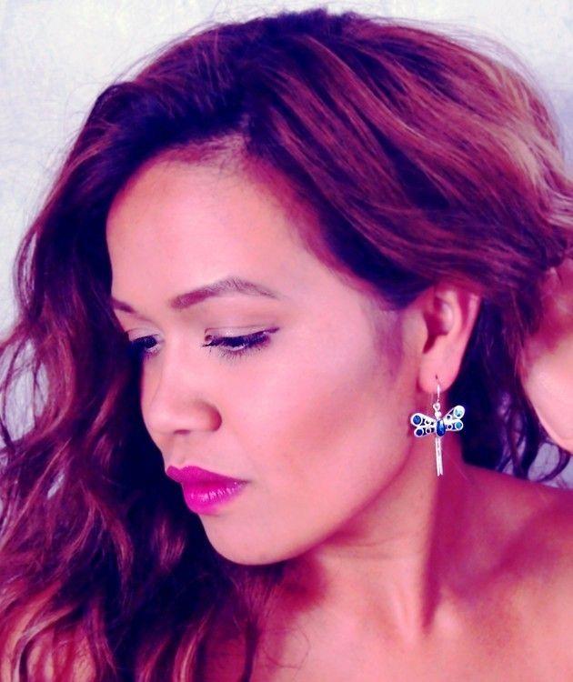 Dragonfly earrings   Perfect NZ Souvenir