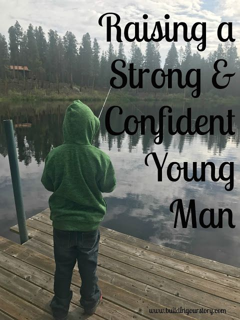 Raising a Strong & Confident Young Man, raising strong boys, boy mom, tips for raising boys, teaching boys to be strong and confident, tips on teaching boys to be confident, sensitive boys, parenting tips for sensitive children, raising strong children (AD)