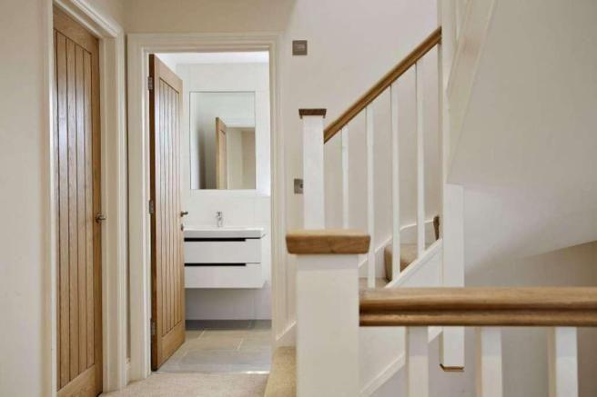 Bannister & internal doors