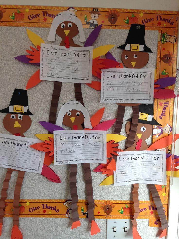 Thankful Turkeys & Kindergarten Writing (from Time 4 Kindergarten)