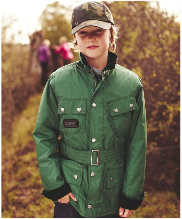 Boys Barbour Nylon International Waterproof Jacket is the classic motorcycle jacket in a waterproof and breathable fabric.