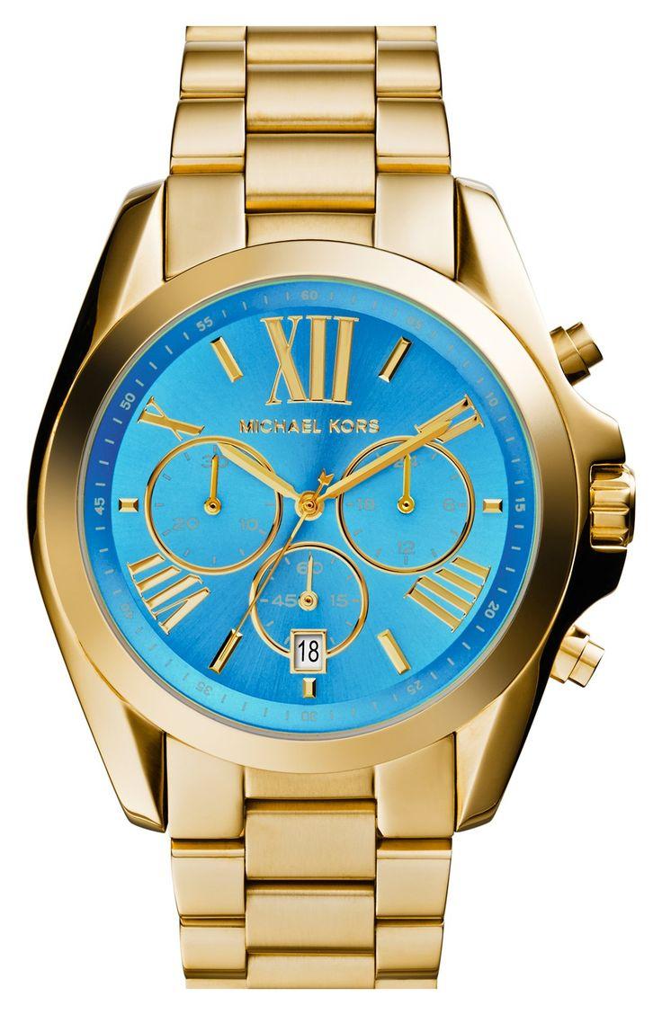 MICHAEL Michael Kors Michael Kors \u0027Bradshaw\u0027 Chronograph Bracelet Watch,  (Nordstrom Exclusive) available at