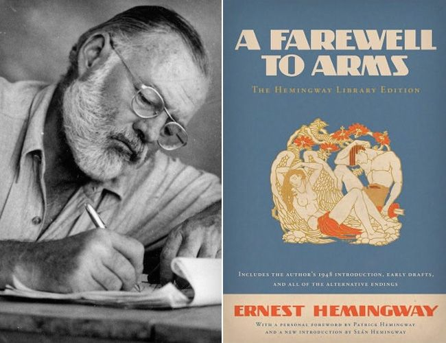 ernest hemingway a farewell to arms thesis