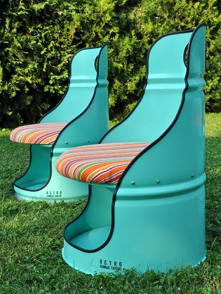 Best 25 recycled furniture ideas on pinterest upcycled for Things to make out of recycled stuff