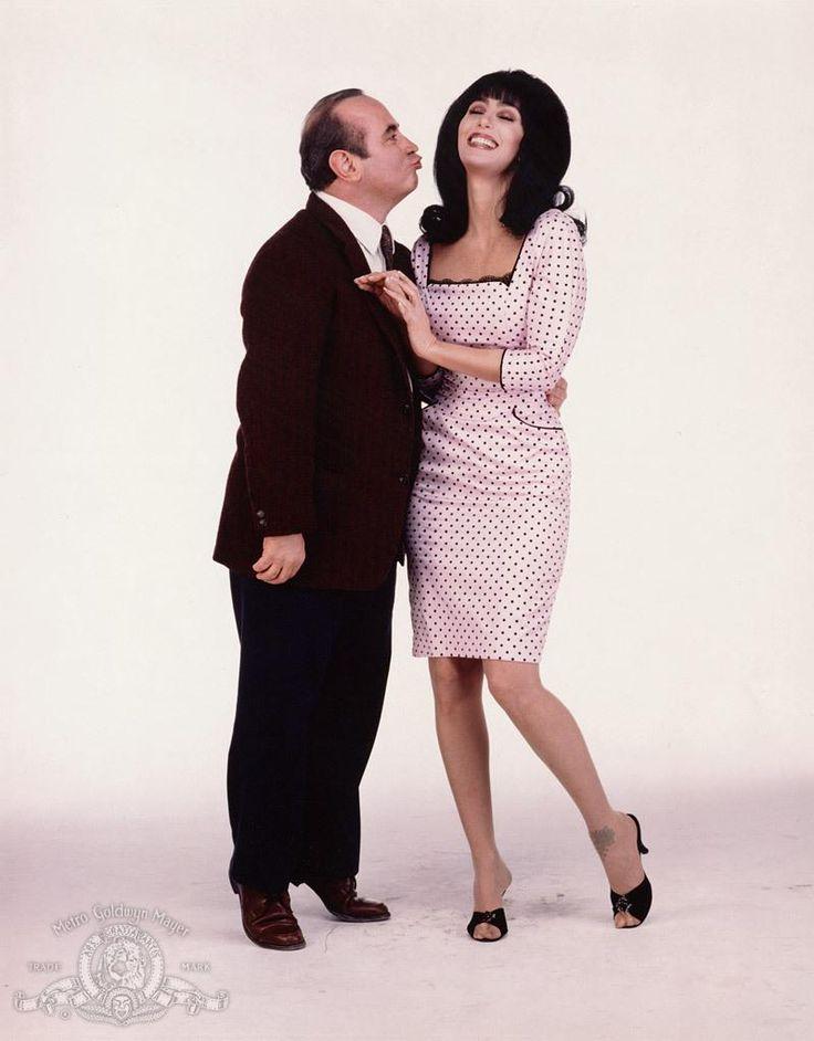 "Bob Hoskins & Cher ~ Promotional photoshoot for ""Mermaids"""