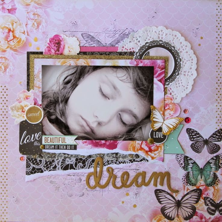 All About Scrapbooks - Kaisercraft All that Glitters by Fiona Johnstone