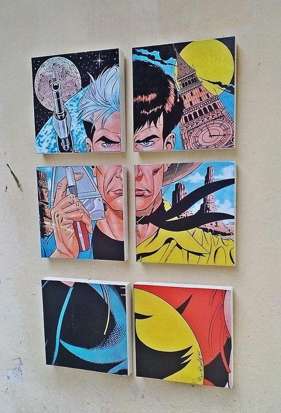 Bonelli Comics Zagor Tex Willer Nathan Mister No by AuroraAndArt