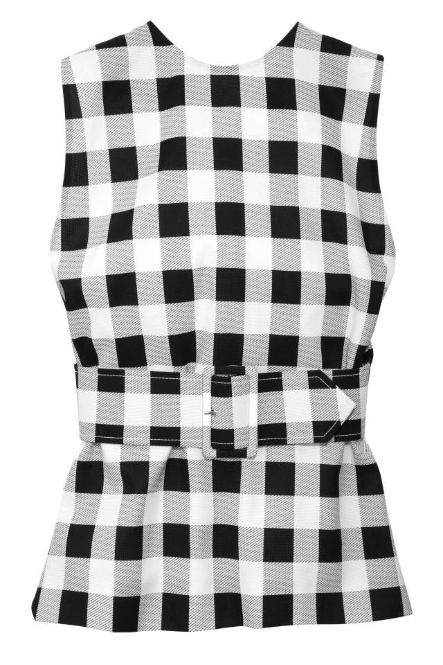 184 Best Gingham Style Images On Pinterest Chess Gingham Skirt And Casual Wear