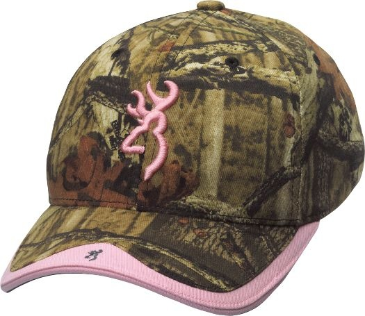 Love this Pink & Camo Hat