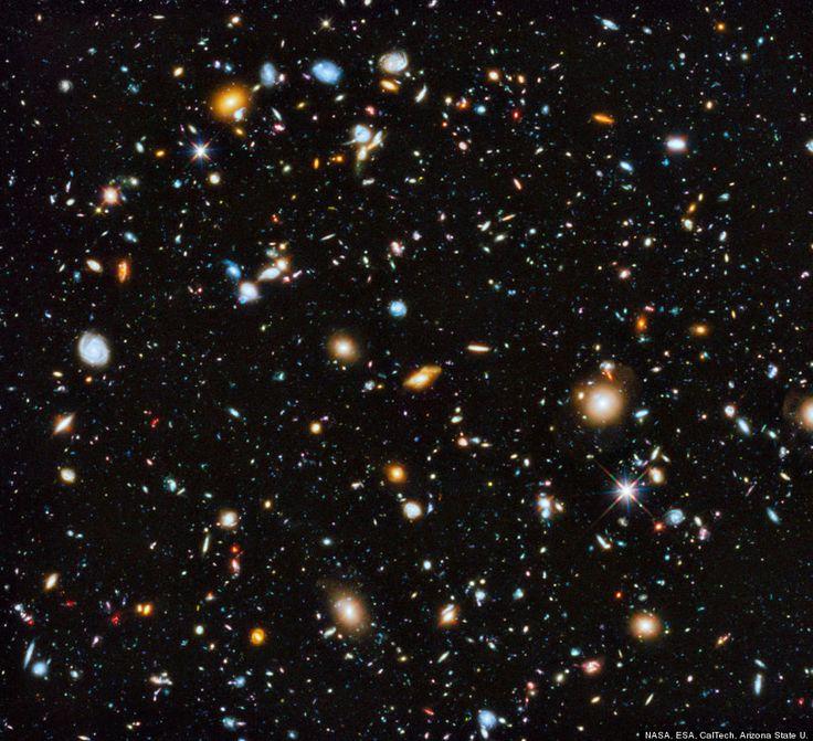 Hubble Ultra Deep Field 2014 : NASAが公開した「史上最高にカラフルな宇宙写真」が美しすぎる... - NAVER まとめ