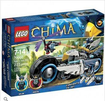 Đồ chơi lego Chima mô tô chim ưng 70007_520.000đ