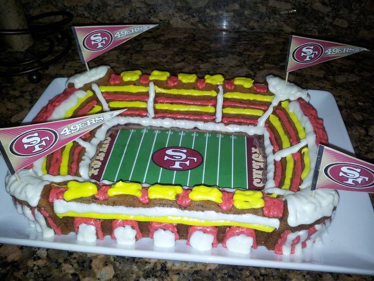 49ers Cake Cake Ideas And Designs