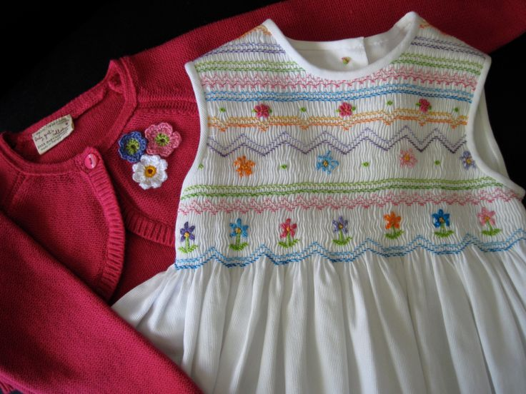 From Australian Smocking and Embroidery magazine dress pattern