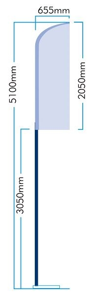 5.1m Feather flag kit - 2050mm  All flag kits online NOW  http://www.tagster.co.uk/productdetail.asp?ID=154&proID=1553