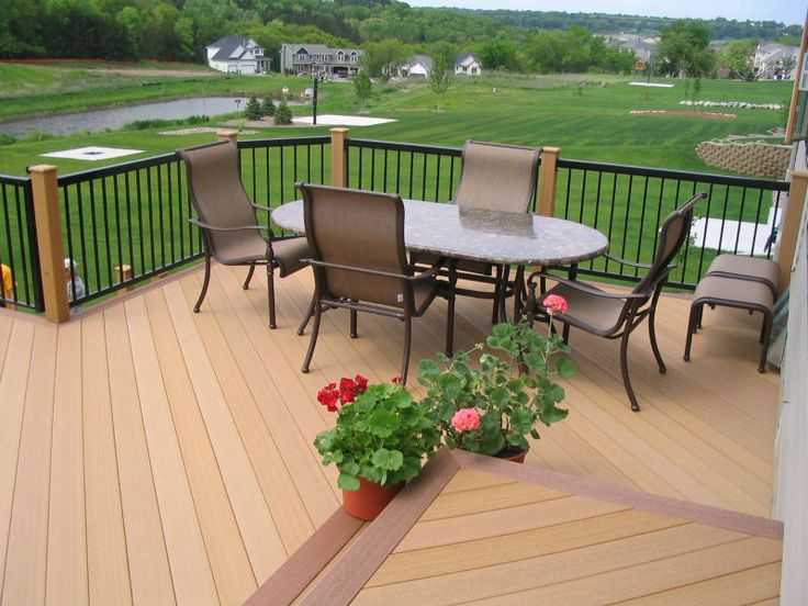 Elegant Outdoor Balcony Flooring