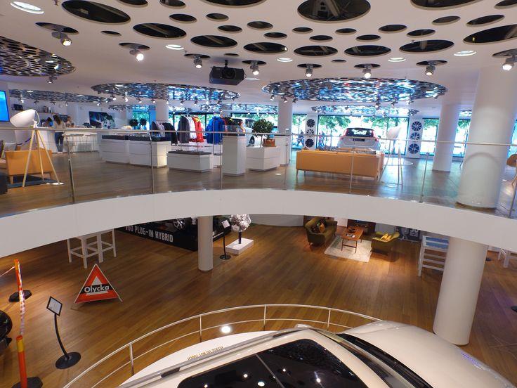 Brand floor & entrance floor.