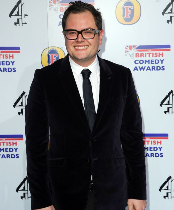Chatty Man - Alan Carr steps out in velvet at the British Comedy Awards