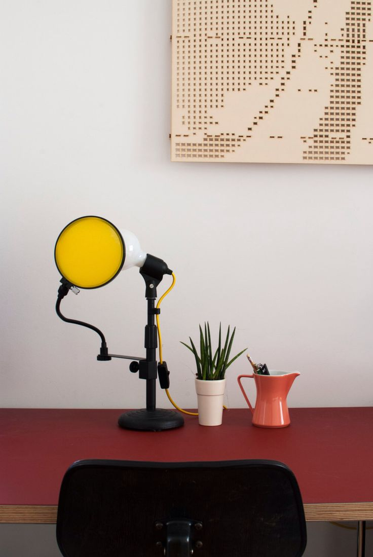 Best 25 yellow desk lamps ideas on pinterest yellow study desks micro bulb junior yellow desk lamp classic style edison bulb table lamp microphone geotapseo Gallery