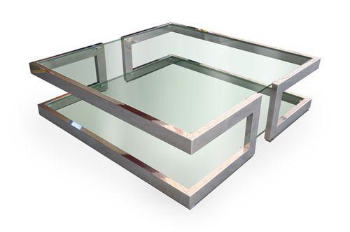 Mesa de centro / moderna / de cristal LISA GONZALO DE SALAS