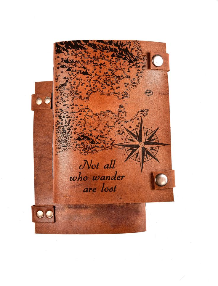 Travel journal - leather journal - personalized journal - travel notebook - custom journal - not all who wander are lost - sketchbook by BlankLeather on Etsy https://www.etsy.com/au/listing/264478878/travel-journal-leather-journal