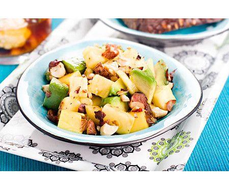 Fruktsallad med avokado