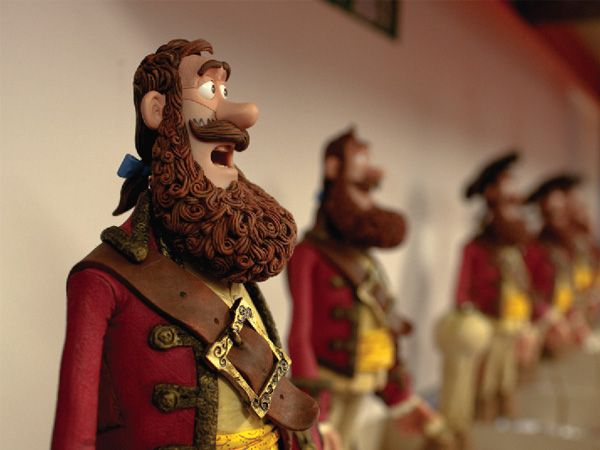 Aardman gets 3D printing savvy with The Pirates!