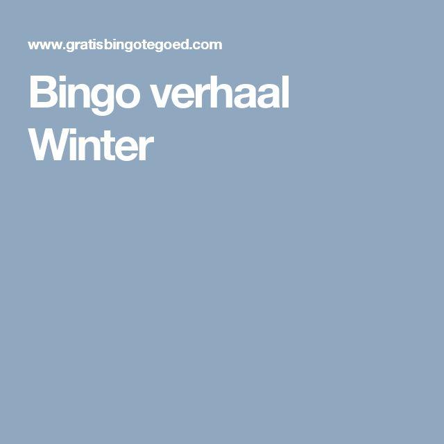 Bingo verhaal Winter
