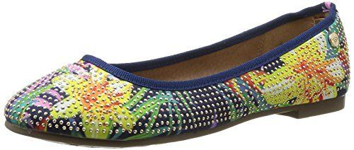 XTI Zapato Sra. Textil Flor Navy - Shoes per women, http://www.amazon.co.uk/dp/B00RKFSANW/ref=cm_sw_r_pi_awdl_3hsWvb04X6018