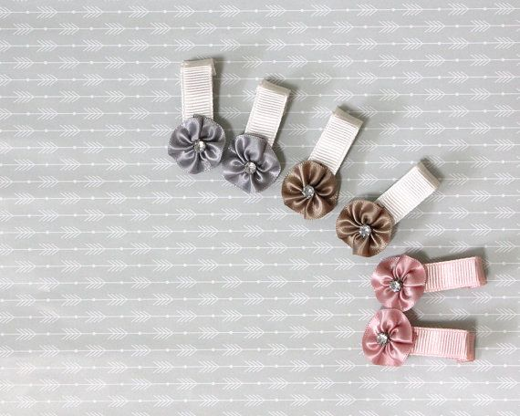 Baby Hair Clips Infant Hair Clips Alligator Clips от Janeysfaves