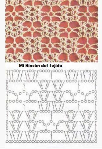 ❤ ✿ Mi Rincón del Tejido ✿ ❤: Puntos Crochet