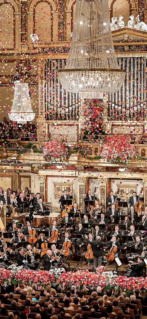 For more than 70 years, the annual New Year's Concert of the Vienna Philharmonic Orchestra, performed on the morning of 1 January, has mesmerized audiences with its sheer beauty and brilliance.