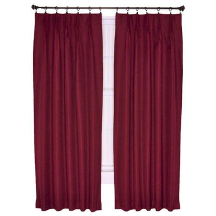 Ellis Crosby Pinch Pleat Patio Panel Curtain   730462707680