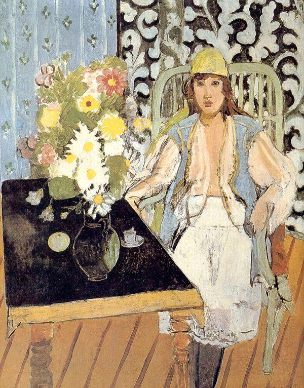 dappledwithshadow:   The Black Table, Henri Matisse 1918