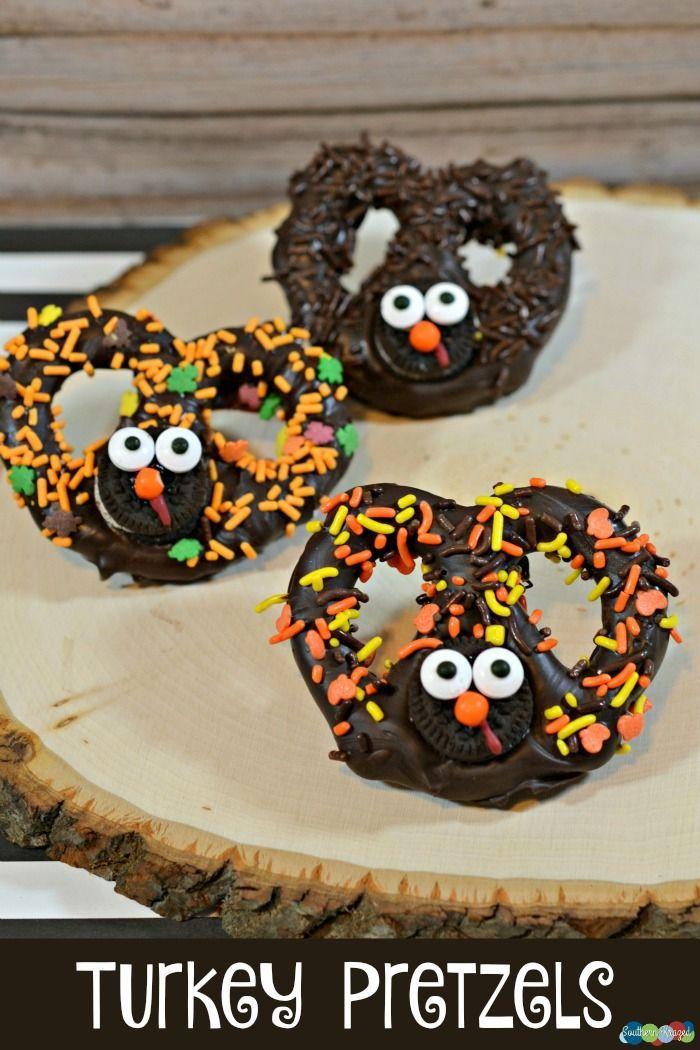 Today's Daily Dish Recipe is Turkey Pretzels from Southern Krazed