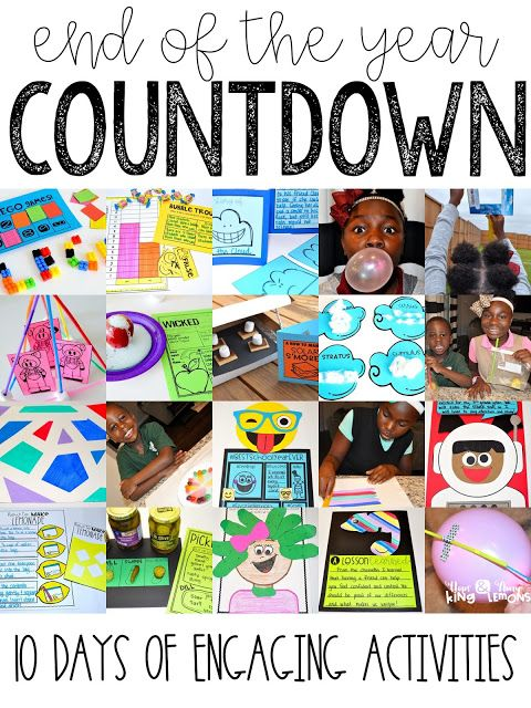 Are you counting down the days until summer? Whether you are or not, most of our students are. And I don't think that's a bad thing! It's not like we are counting down the days until we don't see e