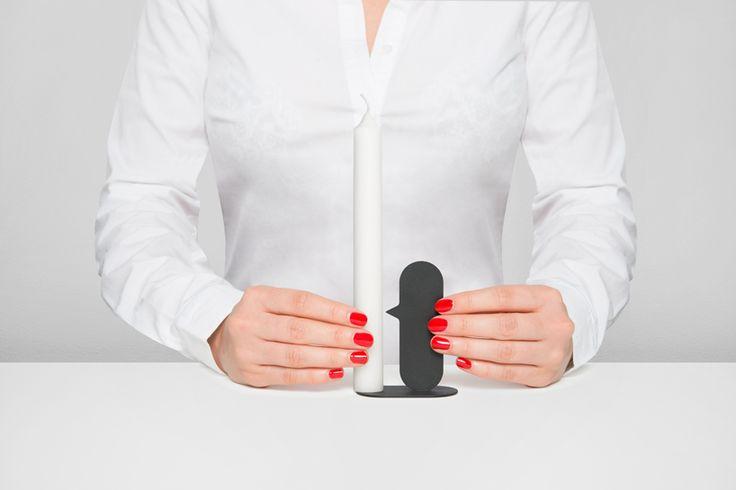 quentin de coster nose candle holder designboom