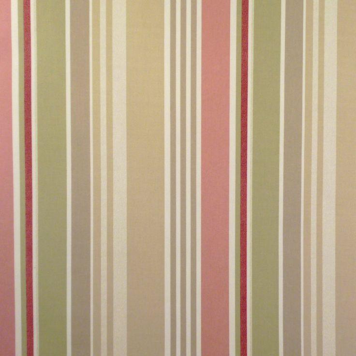 Sally Stripe Matt Oilcloth - Only Oilcloth
