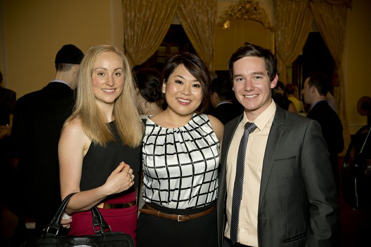 Alexandra, Christina, Nick (Student Ambassadors Uni of Adelaide)
