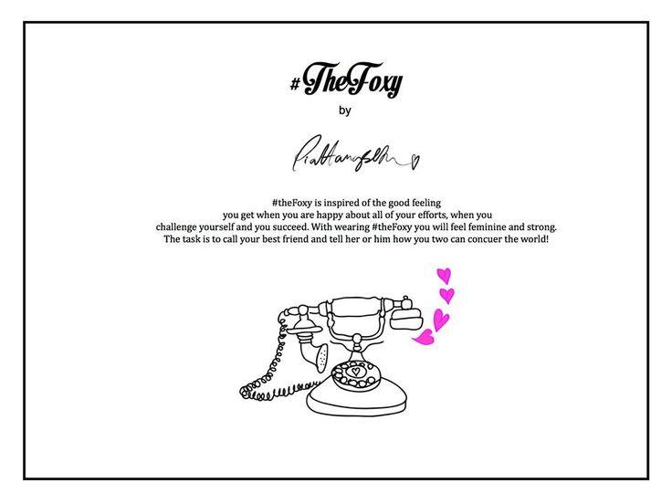 #TheFoxy - Inspiration and task!  #TagYourShoes #PiaHaugseth Illustration Fashion