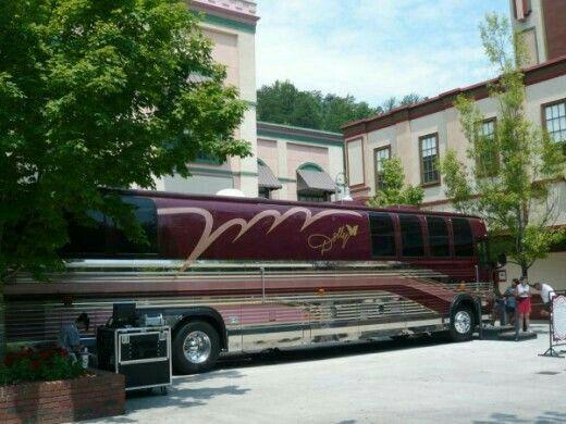 Dolly Parton's Custom Tour Bus