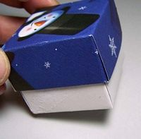 How to fold old greeting cards into gift boxes. I used to make these with my grandmother :)