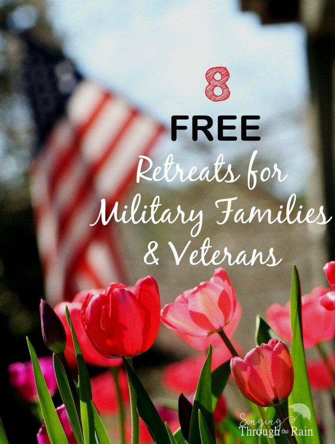 Military Families and Veterans: Learn to reconnect and build better relationships with these free retreats and vacations for the whole family!