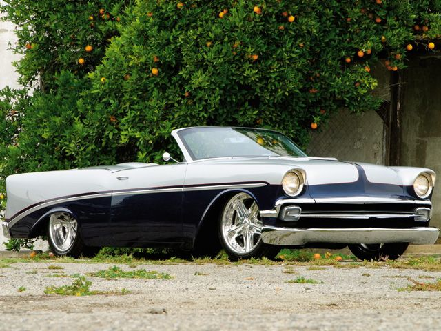 The 1956 Chevrolet Roadster built by Chip Foose for Christopher Titus