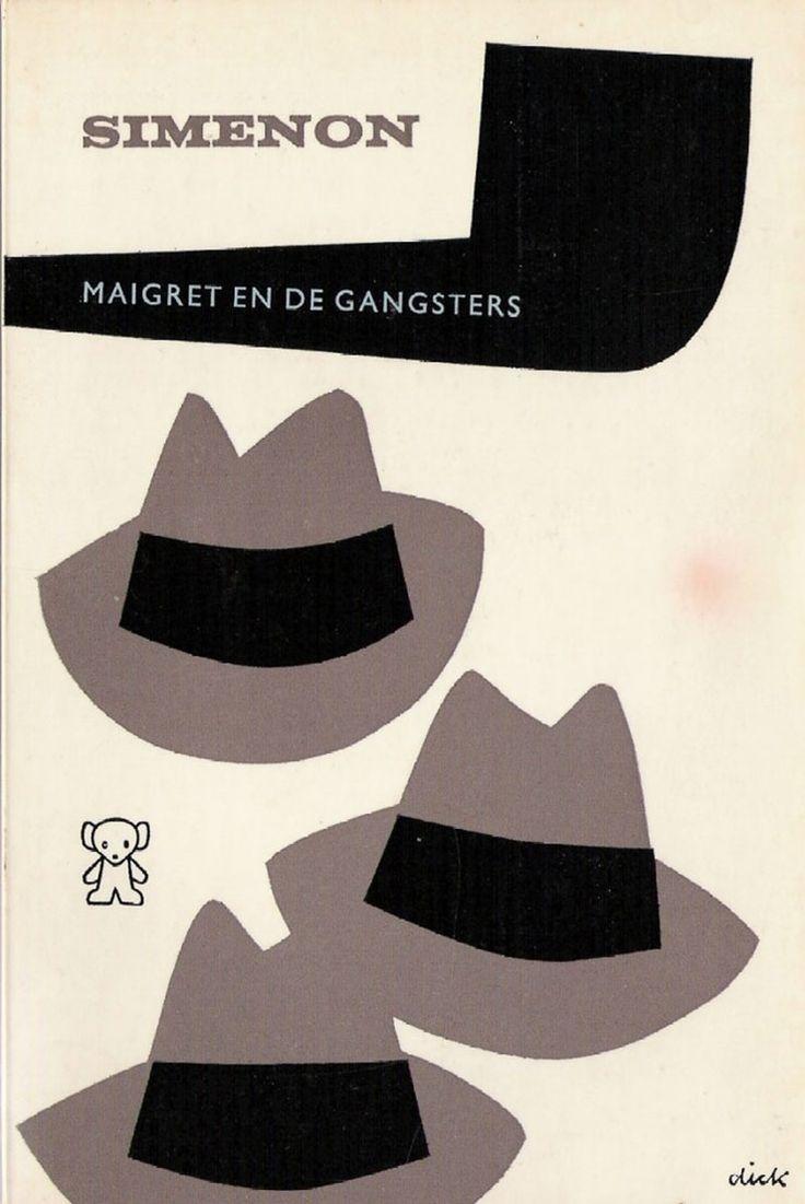 Dick-Bruna-illustrateur-NL-couvertures-livre-maigret-simenon-00