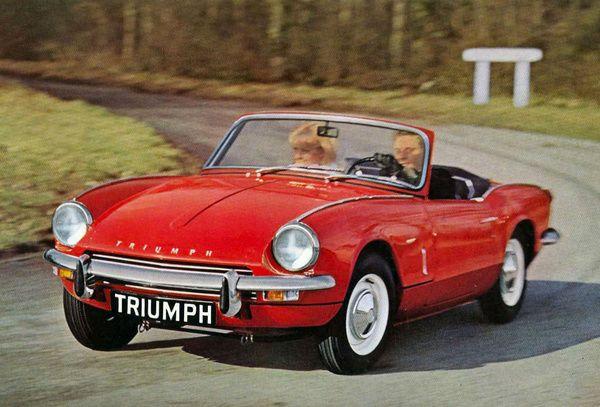 Triumph Spitfire - Voitures: 10 roadsters anglais cultes