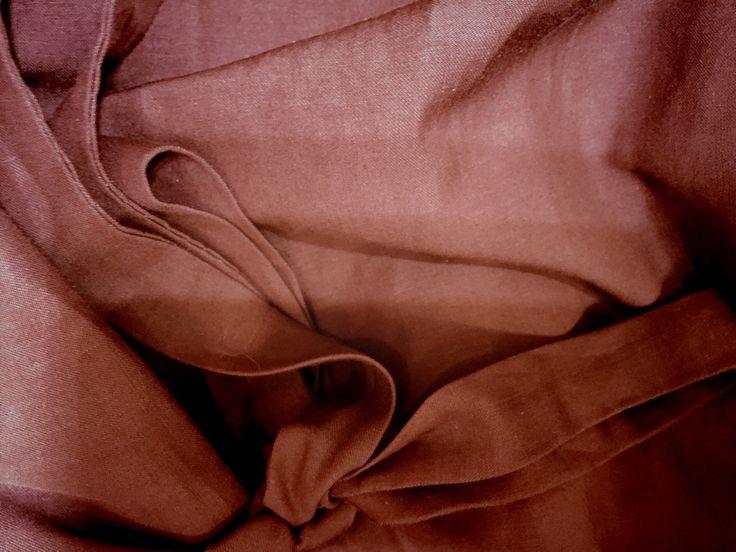 Natural fabric. Sewing by Masha Andrianova