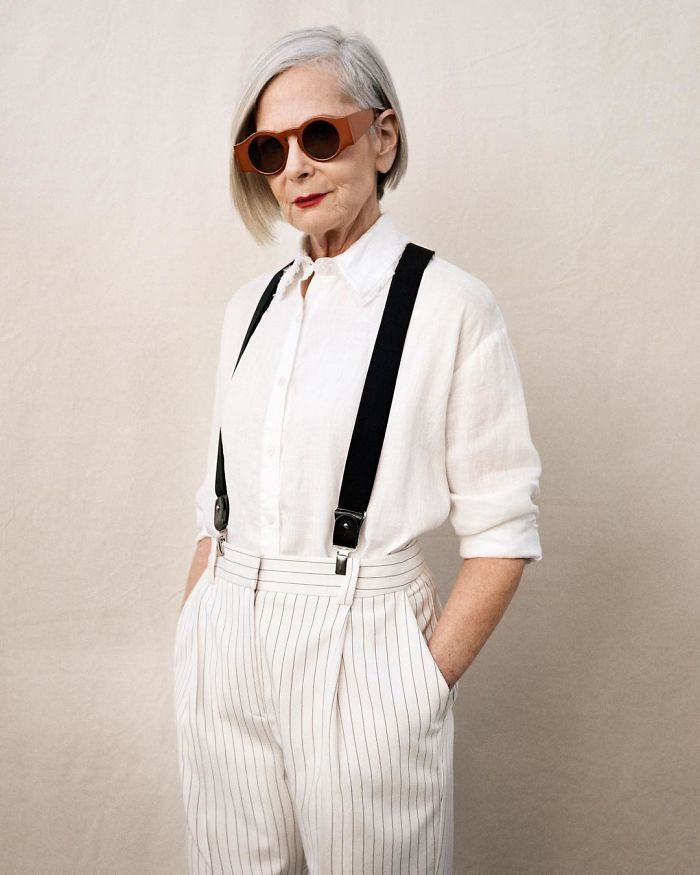Journalists Accidentally Confuse A 63-Year-Old Teacher With A Fashion Icon And It Ends Up Changing Her Life | Bored Panda